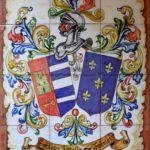 Mural Azulejos Heráldico