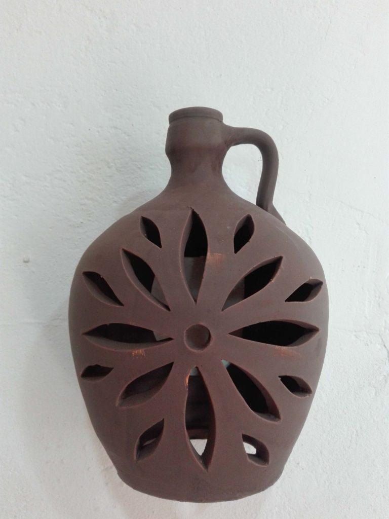 Aplique botija caoba