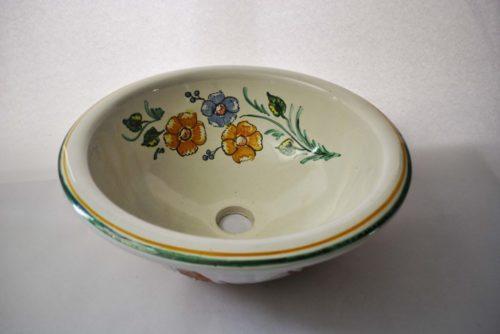 Lavabo fondo siglo XV (Beige) Flor