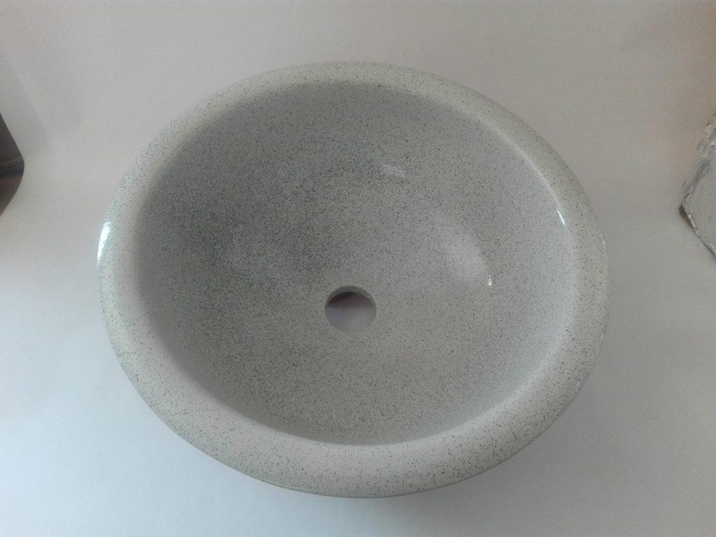 Lavabo blanco picas