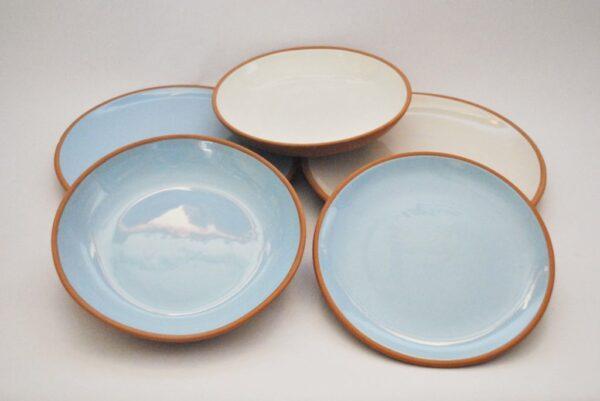 vajilla cerámica artesanal
