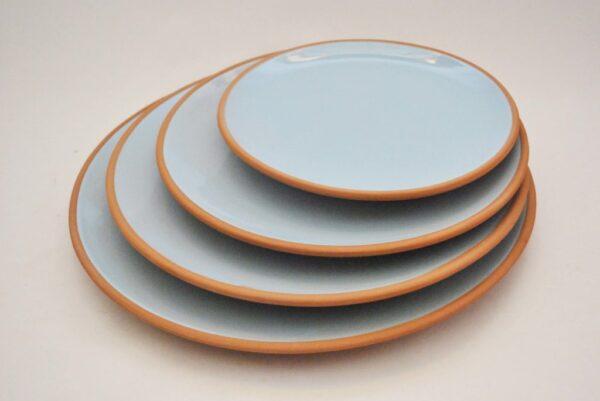 vajilla de cerámica artesanal