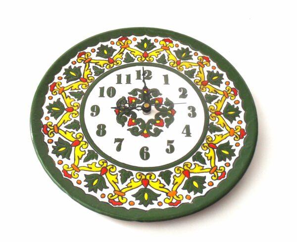 Reloj de cocina de cerámica