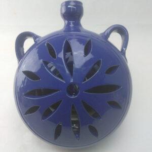 Aplique barril azul